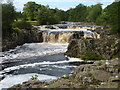 NY9027 : Low Force waterfall by James Allan