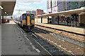 SJ8398 : Sprinter DMU at Salford Central Station by David Dixon