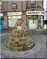 NS4863 : Memorial cairn by Richard Sutcliffe