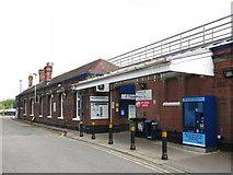 TQ0487 : Denham station - entrance building by Mike Quinn