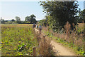 SK5206 : Path south of Groby by Jim Barton
