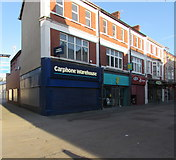 SS9079 : Carphone Warehouse in Bridgend town centre by Jaggery