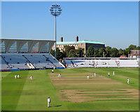 SK5838 : Trent Bridge Cricket Ground: Fox Road to Bridgford Road by John Sutton