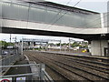 ST3088 : Last days of powerless power lines, Newport station by Jaggery
