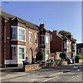 SK5837 : West Bridgford: morning sunlight, Patrick Road by John Sutton