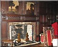 TG2208 : Strangers' Hall Museum  - fireplace in the Great Chamber by Evelyn Simak