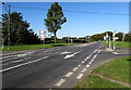 ST0167 : West along the B4265 south of St Athan by Jaggery
