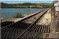 SX8852 : Railway line at Britannia Crossing by Derek Harper