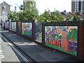 ST5871 : Slow down outside the school by Neil Owen