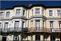 TG5307 : Terrace in Prince's Road by Evelyn Simak