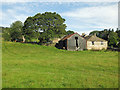 NY7145 : Field and barn at Black House by Mike Quinn