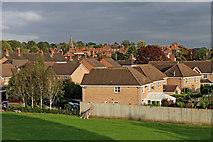SJ8934 : Stonefield housing in Stone, Staffordshire by Roger  Kidd
