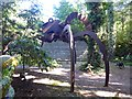 SU8739 : Sculpture of a giant spider by Oliver Dixon