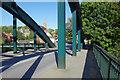 NZ8909 : Ruswarp Bridge by Stephen McKay
