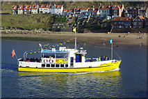 NZ8911 : 'Summer Queen' in Whitby Lower Harbour by Stephen McKay