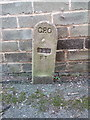 SH6874 : GPO cable marker on Village Road, Llanfairfechan by Meirion