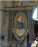 SJ9995 : Mothers Union banner by Gerald England