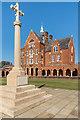 TQ1656 : War memorial, St John's School by Ian Capper