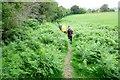 SO2869 : Offa's Dyke Path near Rhos-y-meirch by Jeff Buck