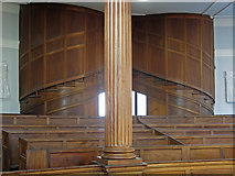 NZ2564 : All Saints Church, Pilgrim Street - staircase to the gallery by Mike Quinn