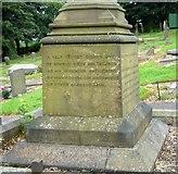 SJ9995 : Lawrence Earnshaw memorial: side 4 by Gerald England