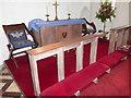 SM9805 : Inside St Mary, Burton (III) by Basher Eyre