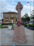 NS2982 : Bicentenary Celtic Cross in Colquhoun Square by David Dixon