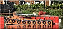 "J3473 : Workboat ""Nato 7"", River Lagan, Belfast (September 2019) by Albert Bridge"