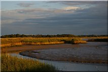 TM3957 : Bend in the River Alde, below Snape by Christopher Hilton
