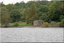 NS3882 : Loch Lomond, Balloch Castle Boathouse by David Dixon