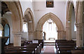 SK9446 : Church of St Nicholas - the nave from the choir by Bob Harvey