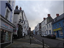 SM9515 : High Street, Haverfordwest (3) by Basher Eyre