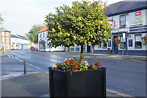 SE8741 : Market Place and York Road, Market Weighton by Stephen McKay