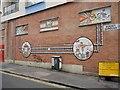 TQ3104 : Facade Art Wall, St James Street, Kemptown, Brighton by Christian K