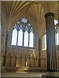 ST5545 : Wells Cathedral [8] by Michael Dibb