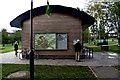 J1460 : Building at Moira Demesne Park by Kenneth  Allen