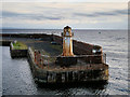 NS2242 : South Pier and Lighthouse, Ardrossan by David Dixon