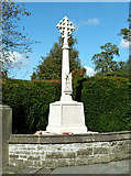 SE5947 : Bishopthorpe War Memorial by Mary and Angus Hogg