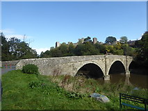 SO5074 : Dinham Bridge and Ludlow Castle, Ludlow by pam fray
