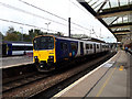 SD9851 : Morecambe train calling at Skipton by Stephen Craven