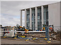 NH6646 : Inverness Justice Centre under construction by Craig Wallace