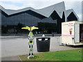 NS5566 : Millennium Milepost Outside Riverside Museum by David Dixon