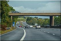 SO8716 : Hucclecote : M5 Motorway by Lewis Clarke