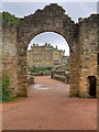 NS2310 : Culzean Castle through the Ruined Arch by David Dixon