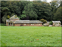 NS2209 : Culzean Castle Country Park, Swan Cottage and Aviary by David Dixon