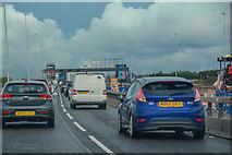 SO9988 : Sandwell : M5 Motorway by Lewis Clarke