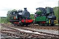 SJ9744 : Foxfield Railway - locomotives by Chris Allen