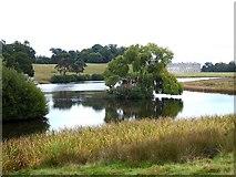 SU9622 : Upper Pond, Petworth Park by Oliver Dixon