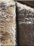 NZ2742 : Weir patterns on the Wear by David Robinson