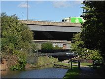 SP0990 : Birmingham & Fazeley Canal - approaching Salford Junction by Chris Allen